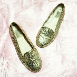 UGG Gold Glitter Loafer